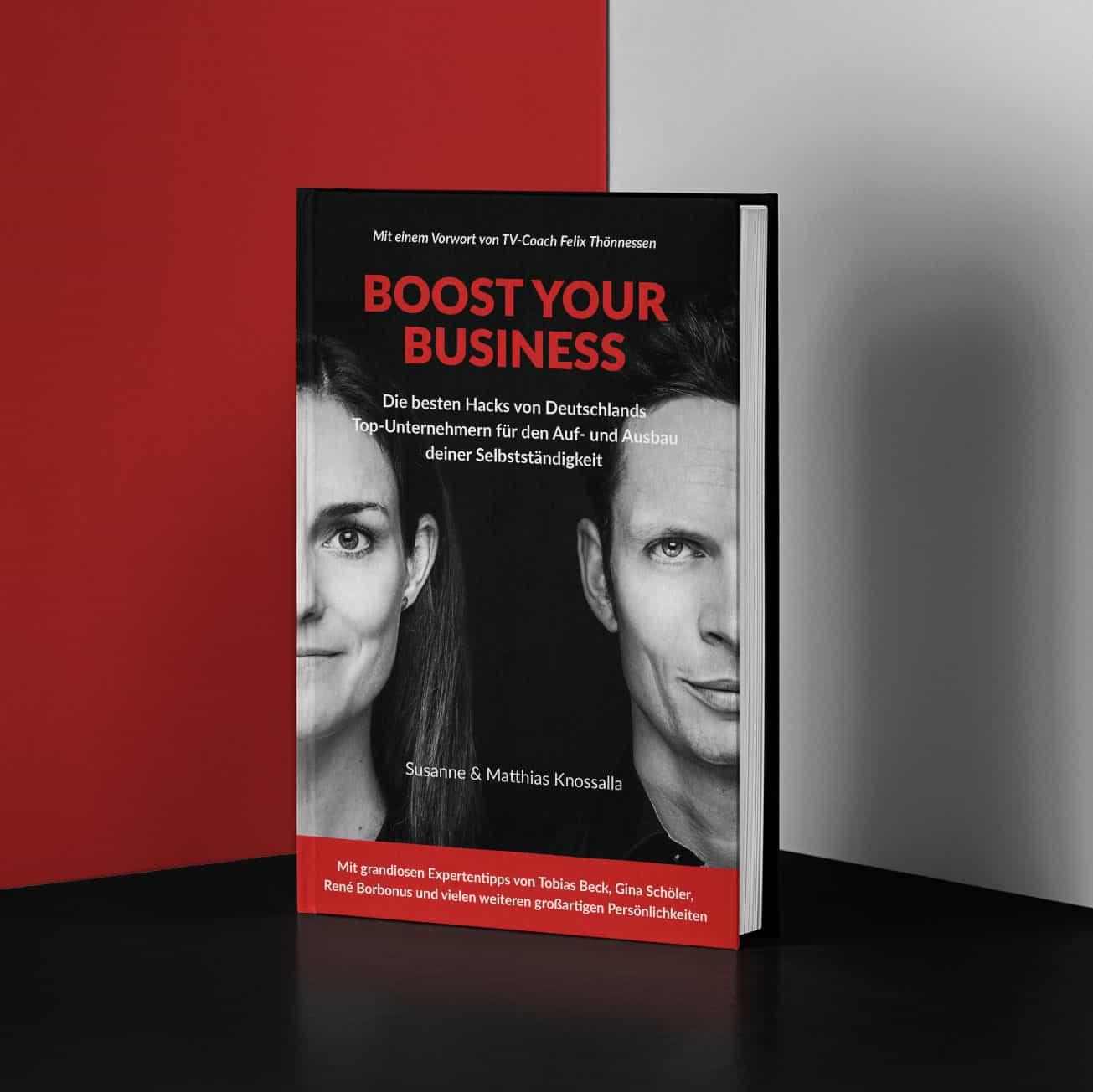 Buch Boost your Business von Susanne und Matthias Knossalla